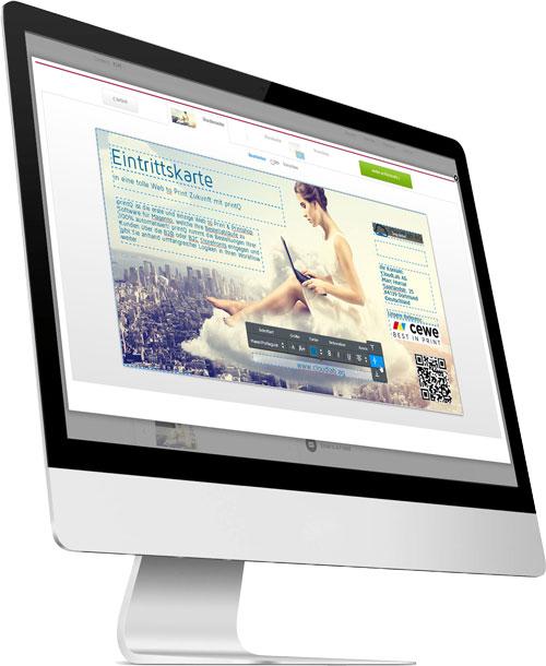 druckdaten editoren web to print software. Black Bedroom Furniture Sets. Home Design Ideas